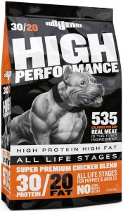 Bully Max High Performance Super Premium Dog Food