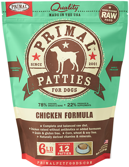 Primal Patties Chicken Formula