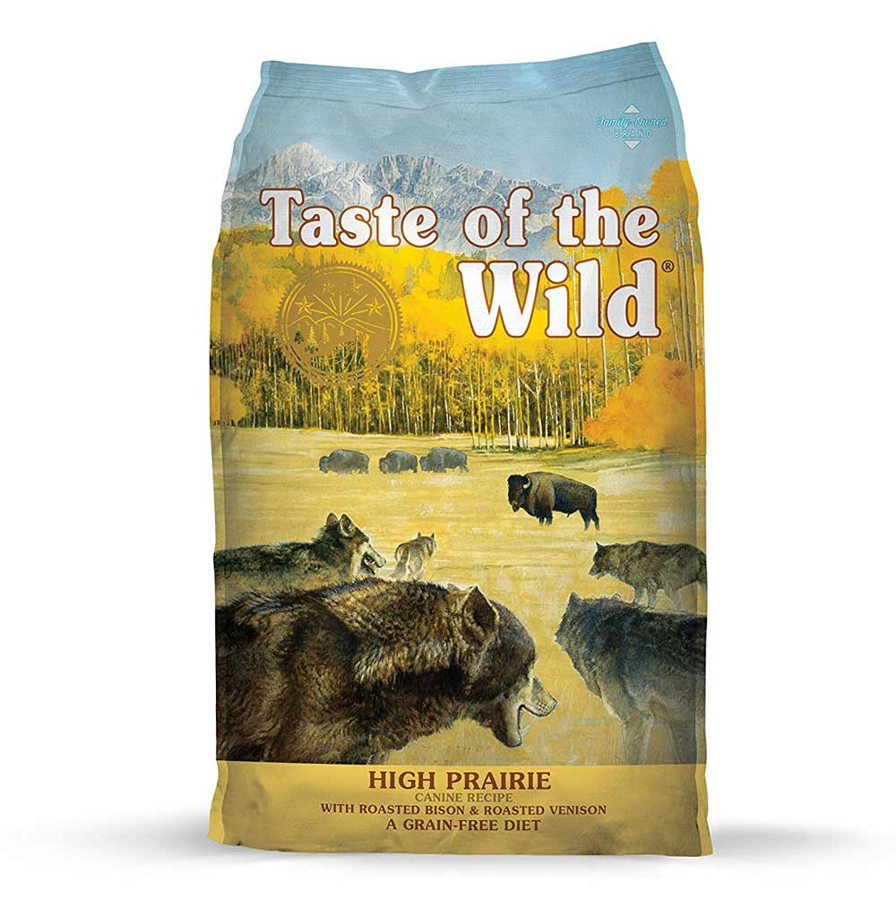 Taste of the Wild Grain-Free High Protein Natural Dry Dog Food