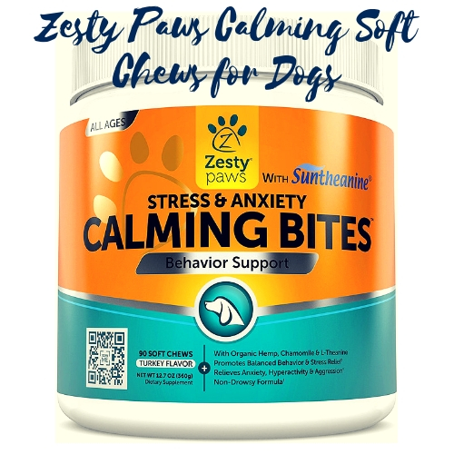 Zesty Paws Calming Soft Chews for Dogs
