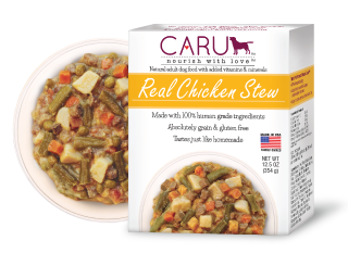 Caru Dog Stew Real Chicken 12.5oz. (Case of 12)