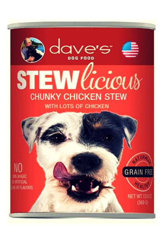 Daves Stewlicious Chunky Chicken Stew Case of 12