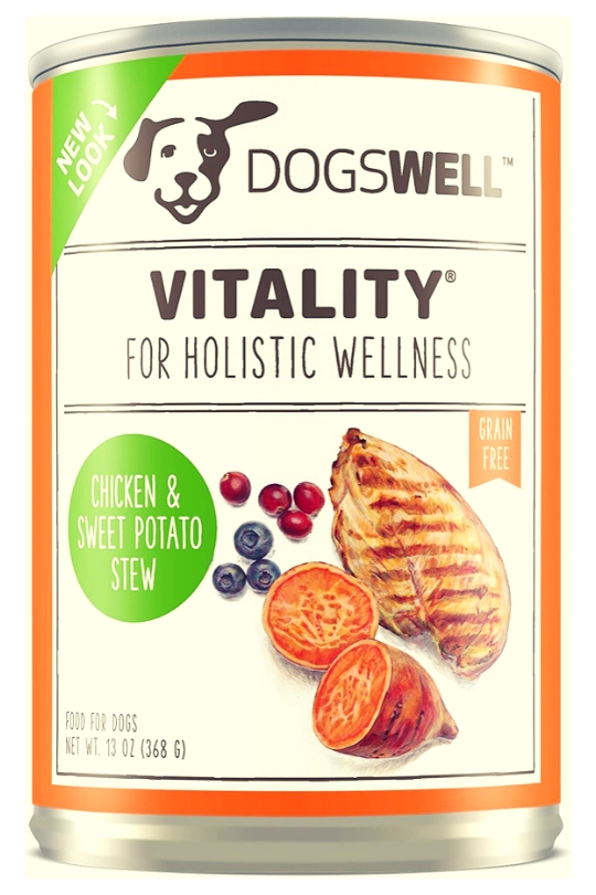 Dogswell Vitality Chicken Sweet Potato 13 oz. (Case of 12)