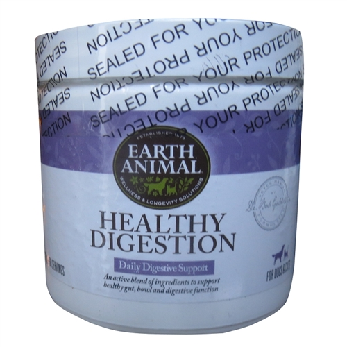 Earth Animal Healthy Digestion Dog Supplement 8oz.
