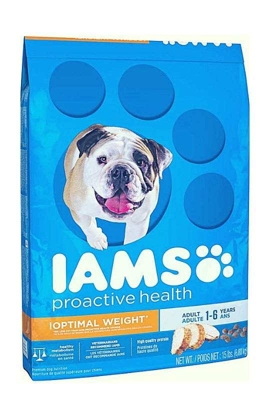 IAMS PROACTIVE HEALTH Adult Optimal Weight Dry Dog Food