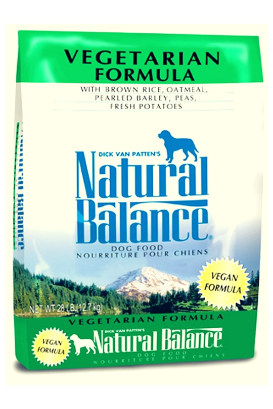 Natural Balance Vegetarian Formula Dry Dog Food 28lb