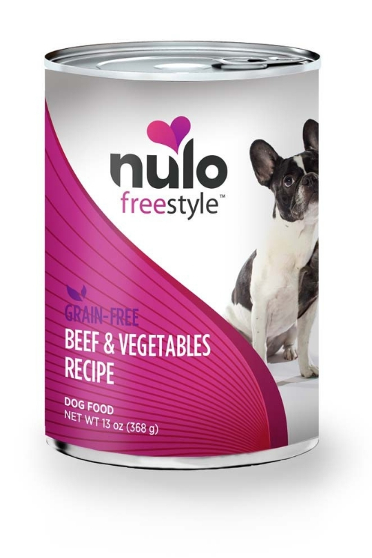 Nulo Dog Grain Free Beef 13oz Can (Case of 12)