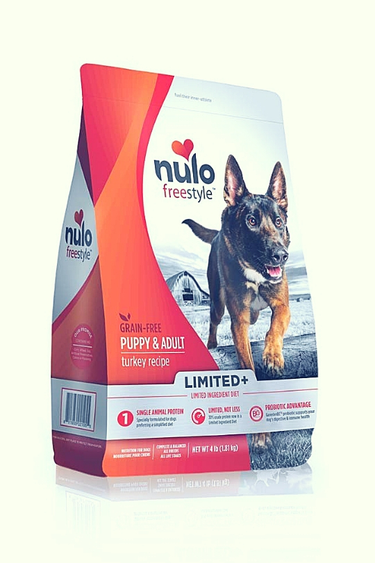 Nulo FreeStyle Limited+ Grain Free Turkey Dry Dog Food 5 Lbs