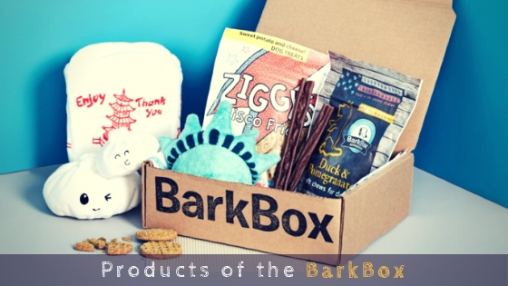 Products of the BarkBox