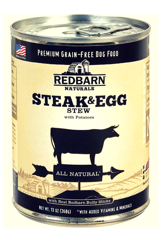 Redbarn Steak and Egg Stew 12ea/13oz
