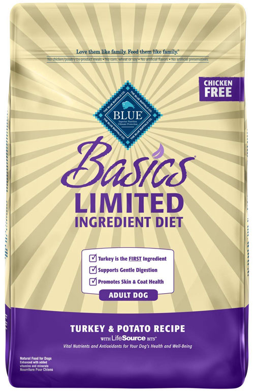 Blue Buffalo Basics Limited-Turkey and Potato for Adult Dogs