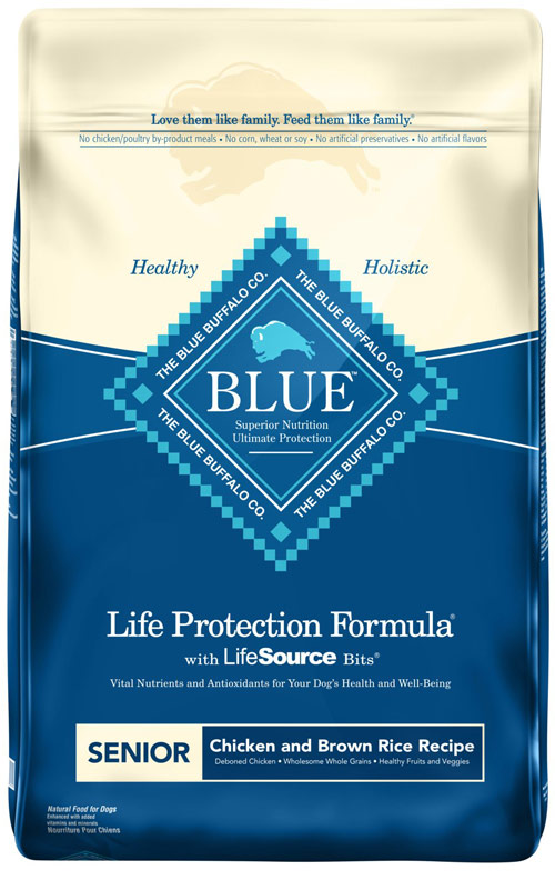 Blue Buffalo Life Protection Chicken and Brown Rice for Senior Dogs