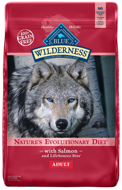 Blue Buffalo Wilderness Salmon Recipe for Adult Dogs