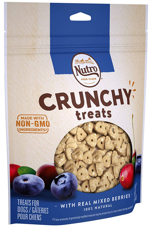 Crunchy Dog Treats from Nutro
