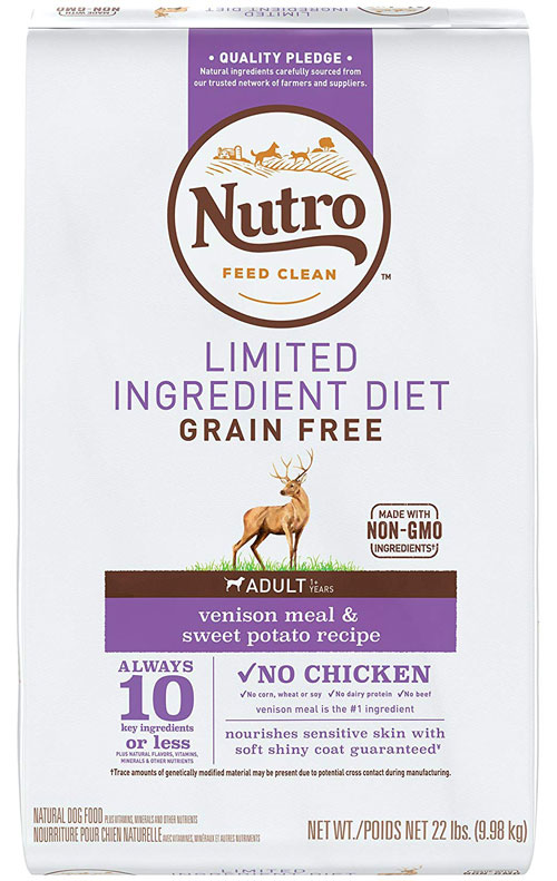 Dry Dog Food Adult Limited Ingredient Diet