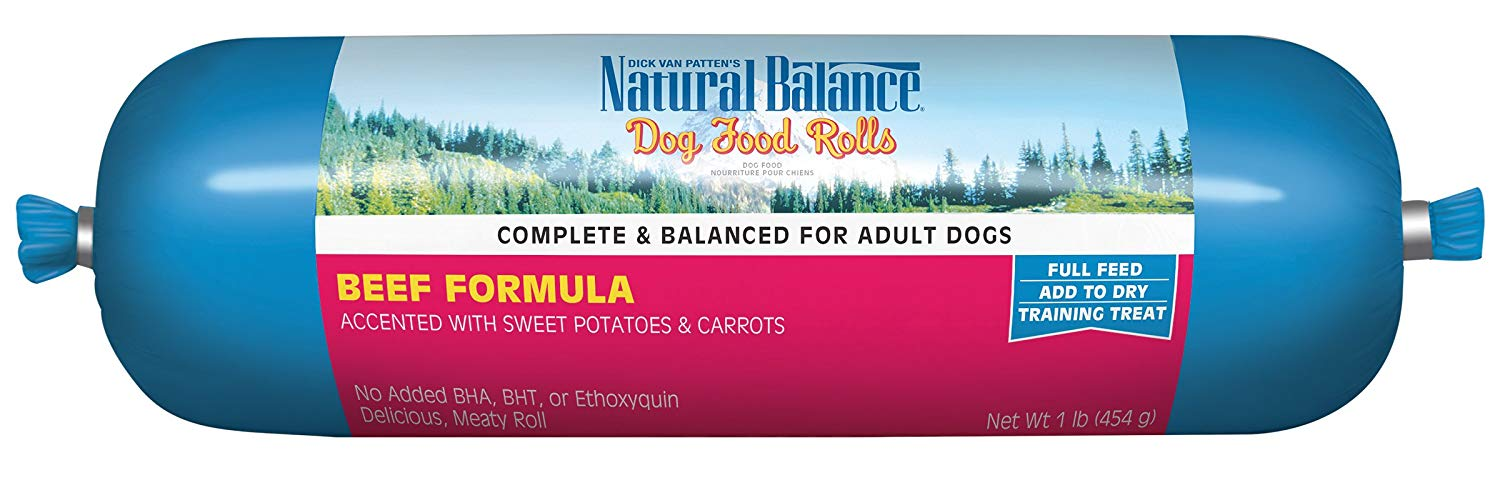Natural Balance Dog Food Roll