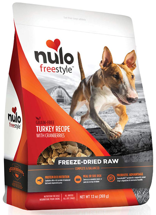 Nulo Freestyle Freeze Dried Raw Grain Free