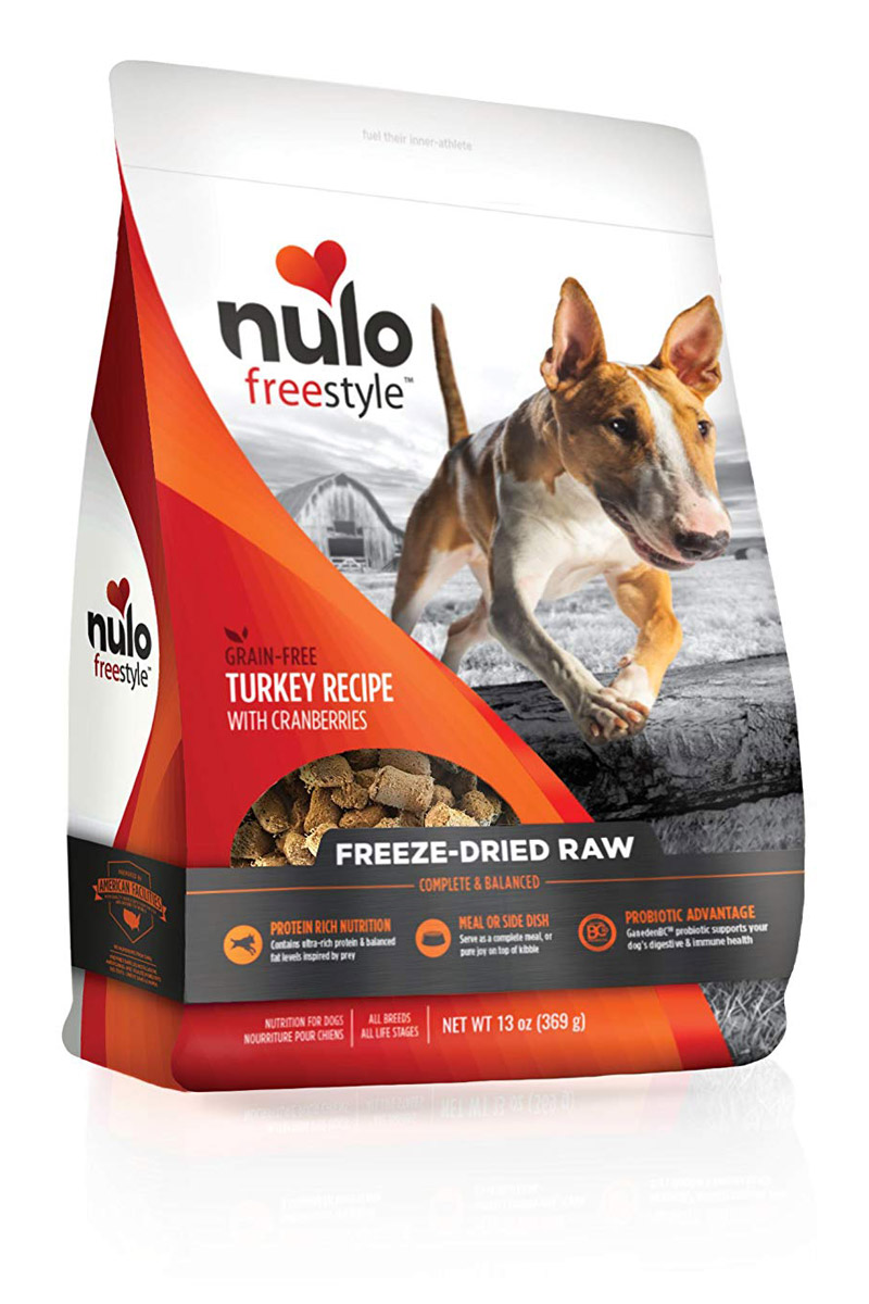 Nulo Freestyle Freeze Dried Raw Duck Dog Food