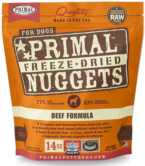 Primal Pet Foods Freeze-Dried Dog Food
