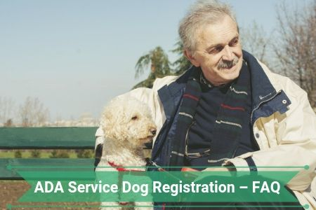 ADA Service Dog Registration – Frequently Asked Questions