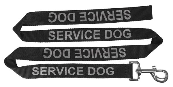 Dogline Reflective Service Dog Leash