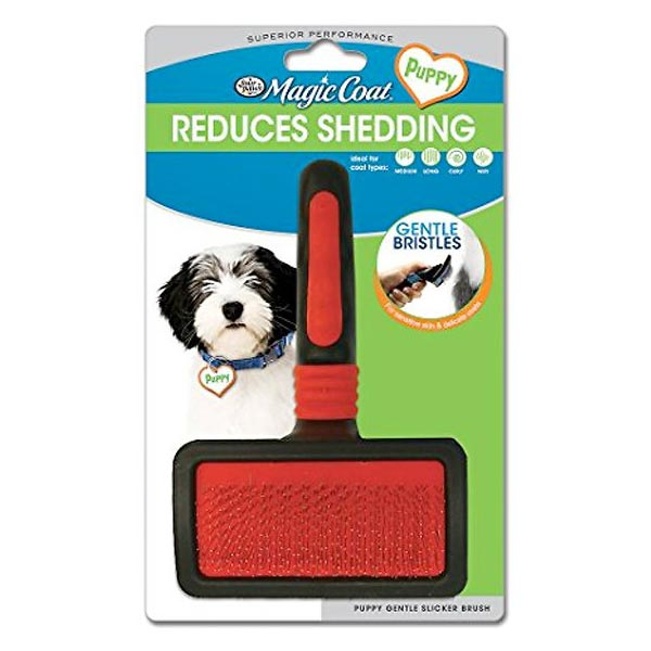 Four Paws Magic Coat Gentle Slicker Brush
