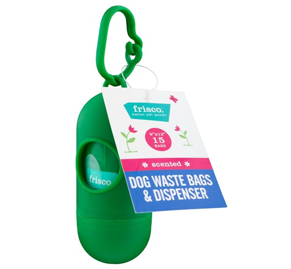 Frisco Dog Poop Bags + Dispenser
