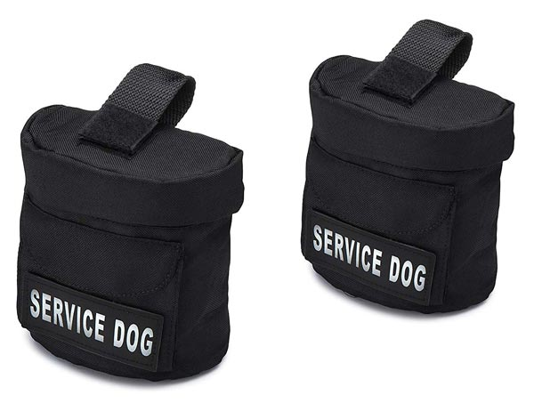 Industrial Puppy Service Dog Harness Saddle Bag