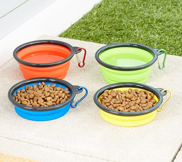 Mr. Peanut's Premium Collapsible Pet Bowls