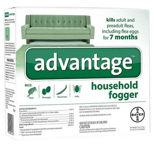 Advantage Household Fogger, 3-pack