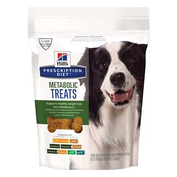 Hill's Prescription Diet Metabolic Canine Dog Treats, 12-oz bag