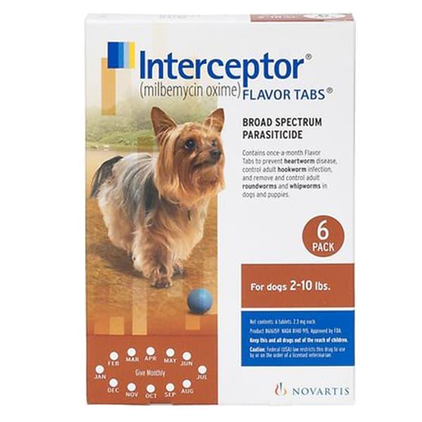 Interceptor Tablets for Dogs