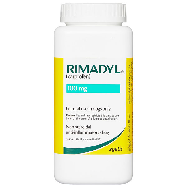 Rimadyl (Carprofen) Chewable Tablets for Dogs 100mg