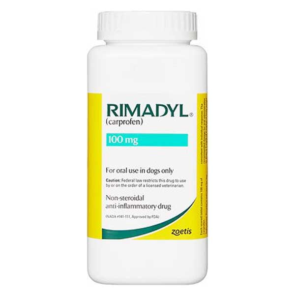 Rimadyl (Carprofen) Chewable Tablets for Dogs
