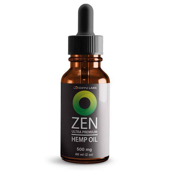 Zen Hemp Oil Premium 500mg 60ml
